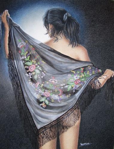 El Chal Floreado (The Floral Shawl)
