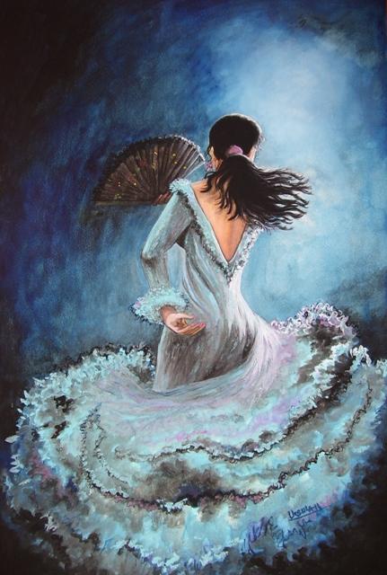 Flamenco Azul