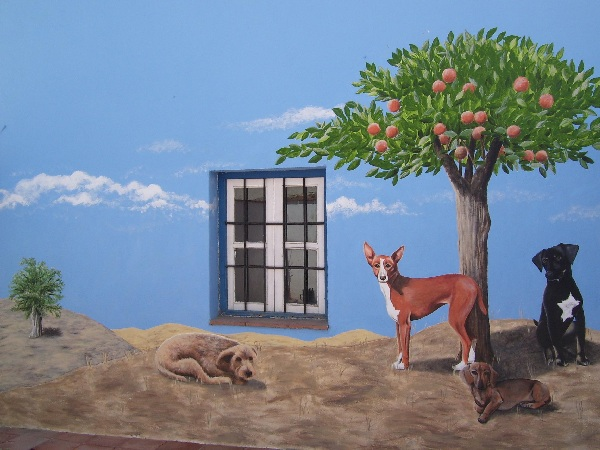 Perros de Campo, finished work