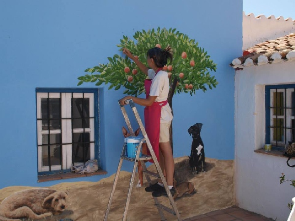 Perros de Campo, work in progress